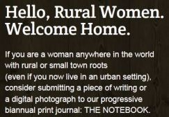Hello Rural Women. Welcome Home.