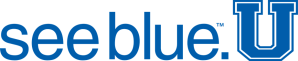 see blue. U logo for University Orientation