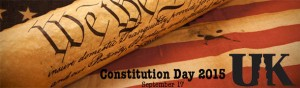 Constitution Day 2015 at UK