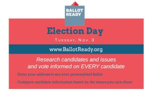 Ballot Ready - Election Day 2015