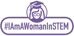 IAmaWomanInSTEM logo